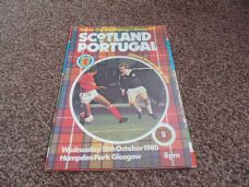 Scotland v Portugal, 1980 [WC]